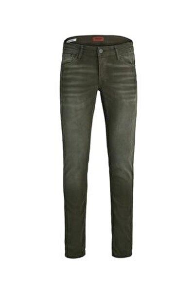 Jack Jones Erkek Glenn Model Haki Renk Kot Pantolon 12163928