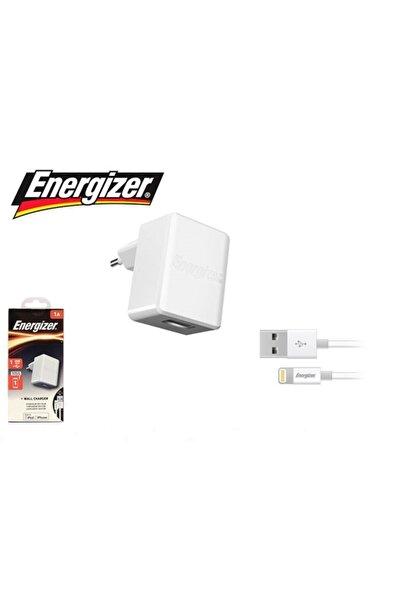 Energizer Ipadve Iphone Lightning Beyaz Kablo Ve Ev Şarj Adaptörü