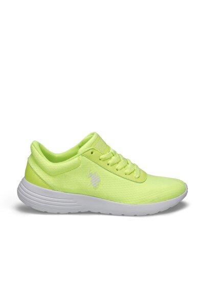 Raıny Neon Sarı Kadın Sneaker Ayakkabı