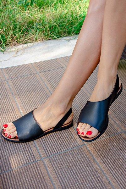 Fox Shoes Siyah Kadın Sandalet H306407509