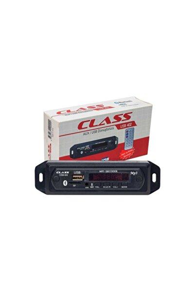 Class Araç Içi Bluetooth Usb/aux Çevirici Modül Usb 402