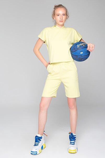 İzumi Sport Sarı Şortlu Takım