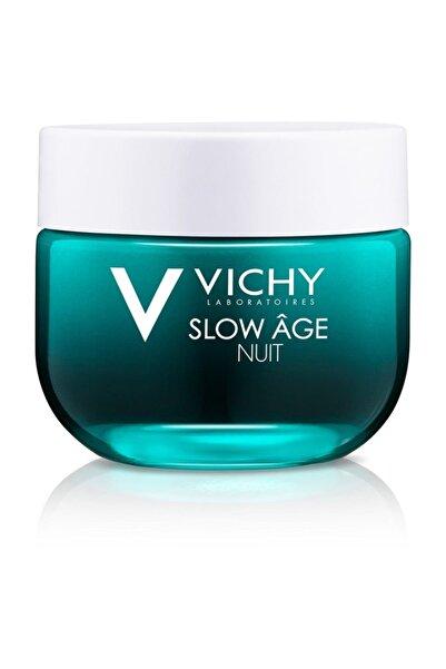 Vichy Slow Age Night Probiyotik Türevi Içeren Detoks Etkili Gece Kremi & Maskesi 50 ml 3337875586283