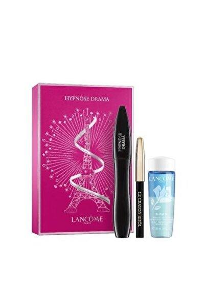 Makyaj Seti - Hypnose Drama Mascara + Black Mini Eyeliner + Eye Makeup Cleanser 30 ml 3614272457294