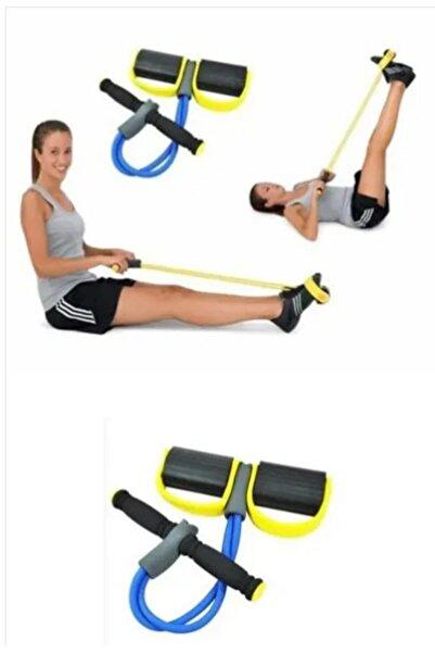 Arus Body Trimmer Egzersiz Aleti El Ayak Direnç Yayı Lastiği Spor Fitness Vücut Karın Kondisyon Lastik