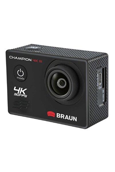 Braun Champion 4k Iıı Full Hd Kampanyalı Aksiyon Kamerası