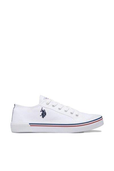 U.s. Polo Assn. Kadın Spor Ayakkabı 8m Penelope Beyaz/White 20S04PENELOPE