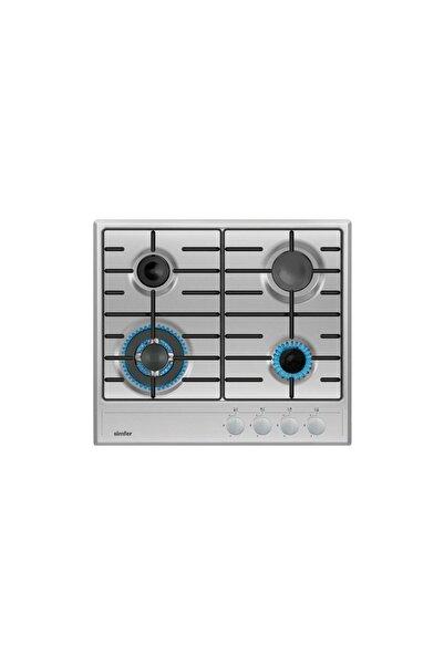 Simfer 3314 3g + 1 Wok 60 cm İnox Ankastre Ocak