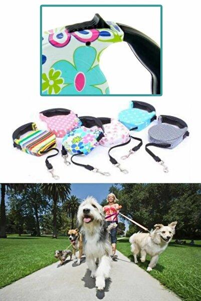 Vivyan Pup Style Desenli Köpek Gezdirme Tasması