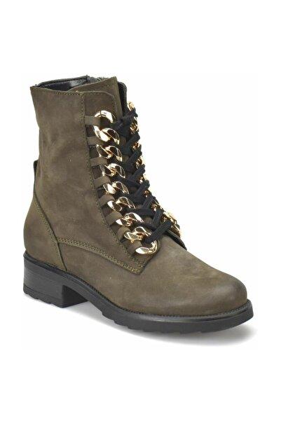 Butigo R15240-br733flo Haki Kadın Ayakkabı
