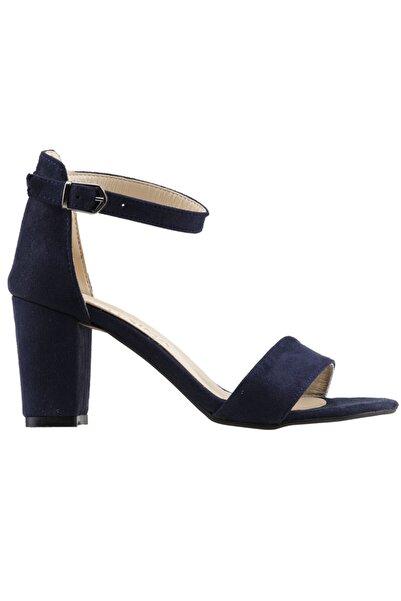 Ayakland Lacivert Kadın Topuklu Ayakkabı 19YAYAYK0000075