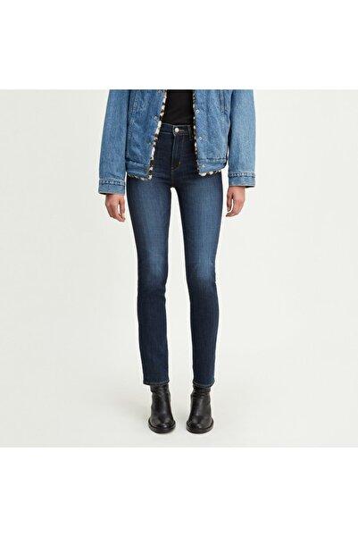 Levi's Kadın Lacivert 724 High Rise Straight Jean 18883-0048