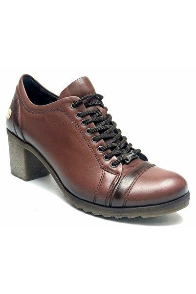 Mammamia Mammamıa 500 Hakiki Deri Topuklu Kadın Ayakkabı