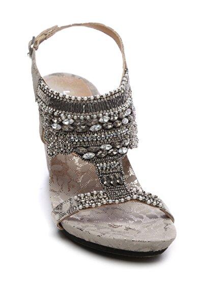 KEMAL TANCA Kadın Vegan Sandalet Sandalet 461 85130 BN SNDLT