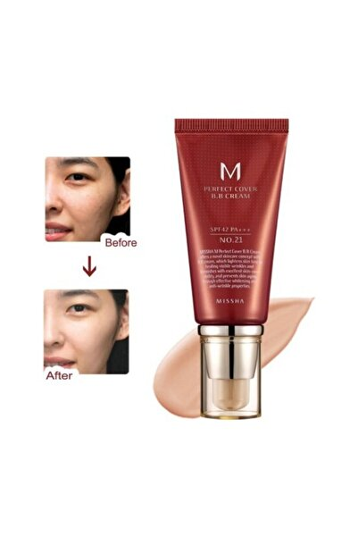 Mıssha M Perfect Cover Bb Cream No: 21