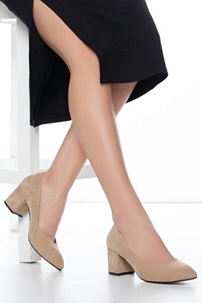 MUGGO W706 Kadın Topuklu Ayakkabı