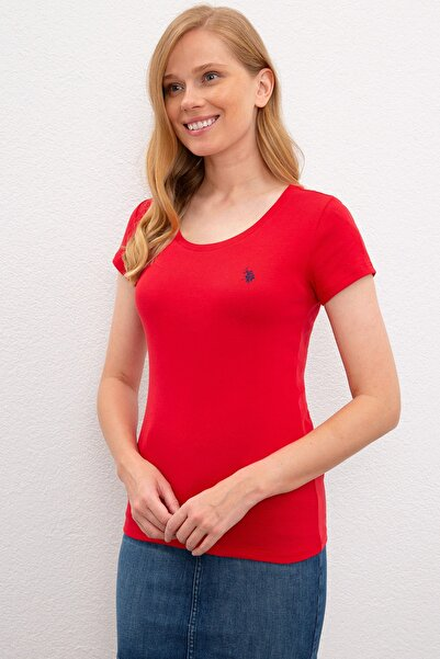U.S. Polo Assn. Kadın T-Shirt G082SZ011.000.1089739