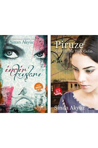 Alfa Yayınları Incir Kuşları / Piruze: Şam'da Bir Türk Gelin Midi Boy 2 Kitap Set