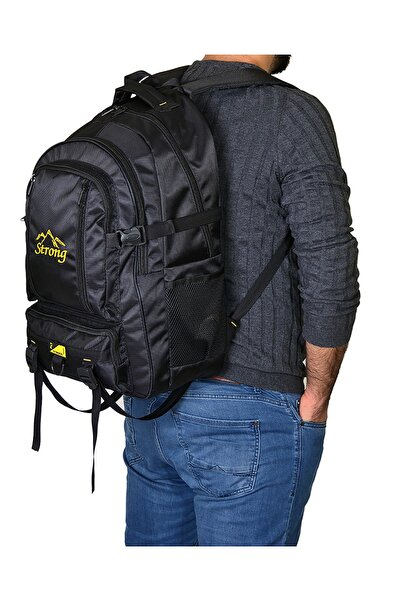 Strong Bag Strong 17-18.4 Inch Laptop Bölmeli Büyük Boy Sırt Çantası,dağcı Çantası,seyahat Kamp Çantası