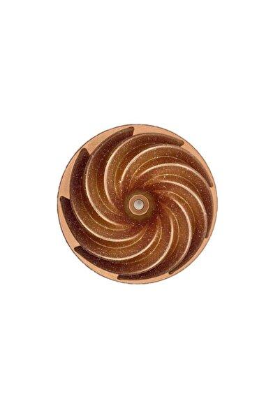 Esse Nso Granit Döküm Kek Kalıbı - 10 Farklı Model Rüzgar Gülü - Rosegold