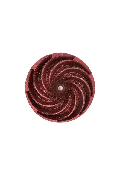 Esse Nso Granit Döküm Kek Kalıbı - 10 Farklı Model Rüzgar Gülü - Kırmızı