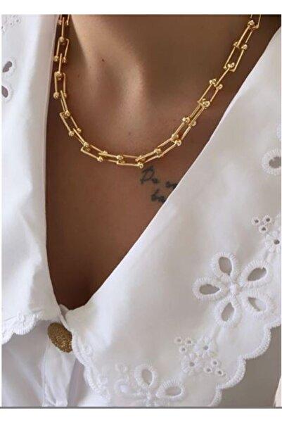 Tezgahtar ACCESSORY Tiffany&co. Gold Model Kolye