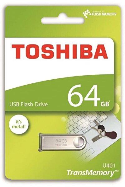 Toshiba 64gb Owahri U401 2.0 Usb Metal Flash Bellek