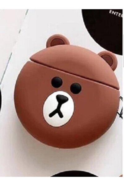 Sunix Sevimli Ayı Teddy Silikon 1.-2. Nesil Apple Airpods Kılıf
