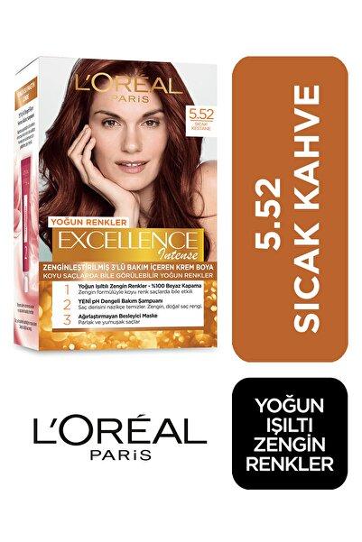 Saç Boyası - Excellence Intense No: 5.52 Sıcak Kestane 3600522822288