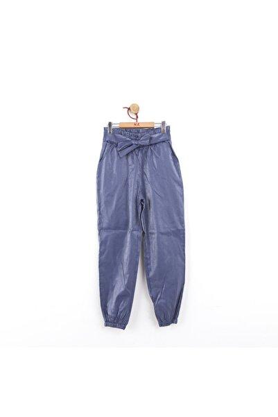 NK Kız Çocuk Lacivert Işıltılı Pantolon