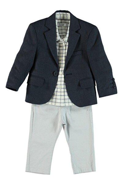 Monna Rosa Erkek Çocuk Ceket-gömlek-pantolon Takım
