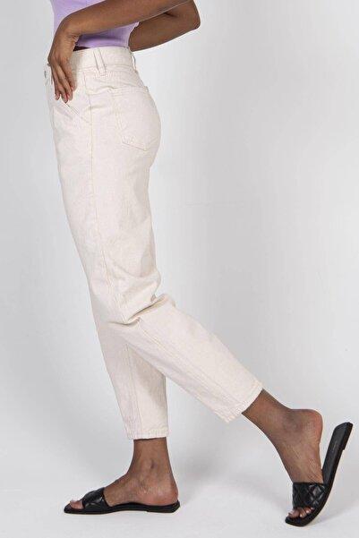 Kadın Ham Yüksek Bel Pantolon PN6775 - PNC ADX-0000022674