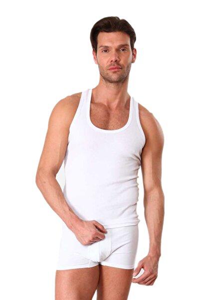 Redzone Erkek Beyaz 6'lı Klasik Atlet