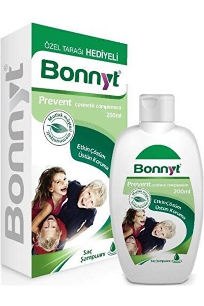 BONNYT Bit Şampuanı 200ml X 2 Adet