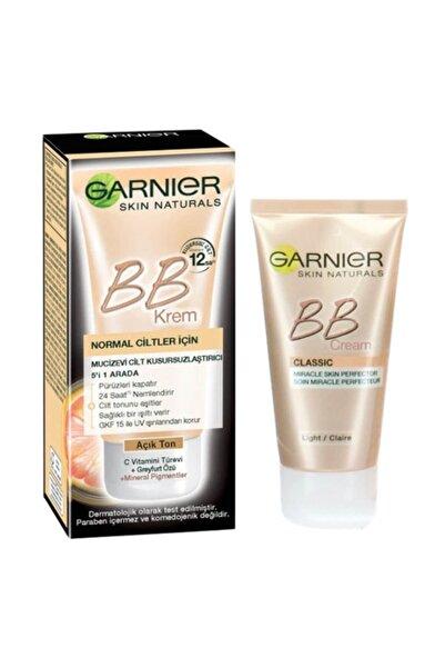 Garnier Bb Krem Mucizevi Cilt Kusursuzlaştırıcı Açık Ton 18 ml