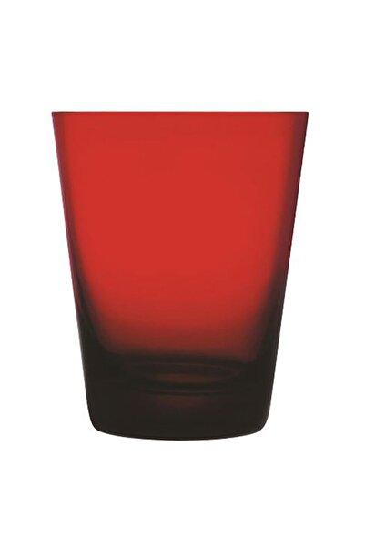 Paşabahçe Nude Colored V Kırmızı Renk Su Bardağı 6 Adet