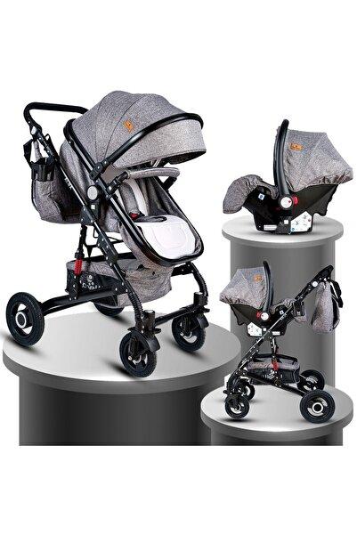 Lorelli Alba Çift Yönlü Amortisörlü Travel Seyahat Sistem Bebek Arabası