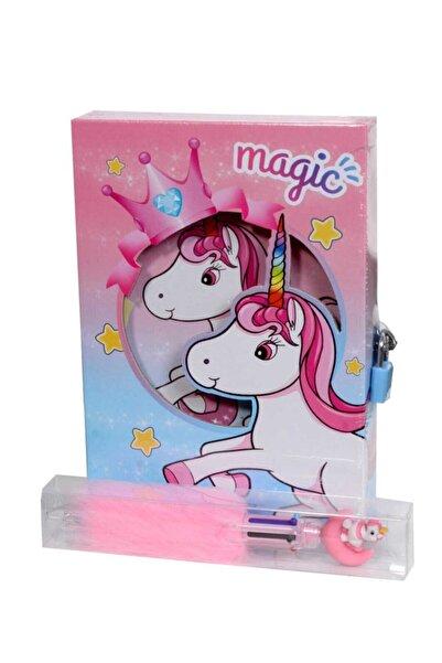 Mikro Unicorn Hatıra Defteri + Unicorn Peluşlu 6 Renkli Tükenmez Kalem Hediyemizdir.