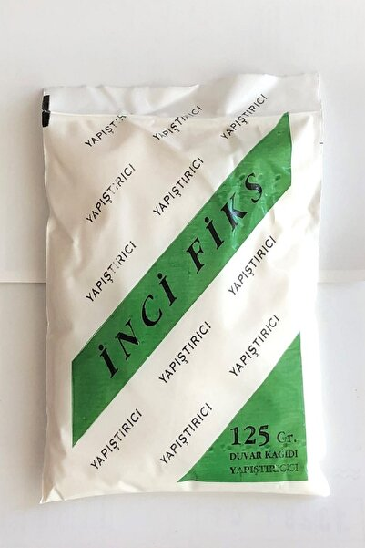 İnciFiks İthal Özel Duvar Kağıdı Yapıştırıcısı Tutkalı 125 Gram ( 20 m2 )