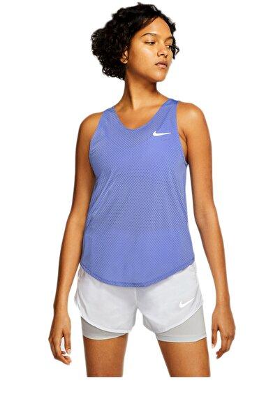 Nike Kadın Mor Nk Tank Breathe Atlet Cj2549-500