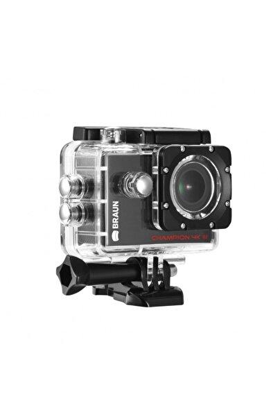 Braun Champion 4k Iı Full Hd Wifi Aksiyon Kamera