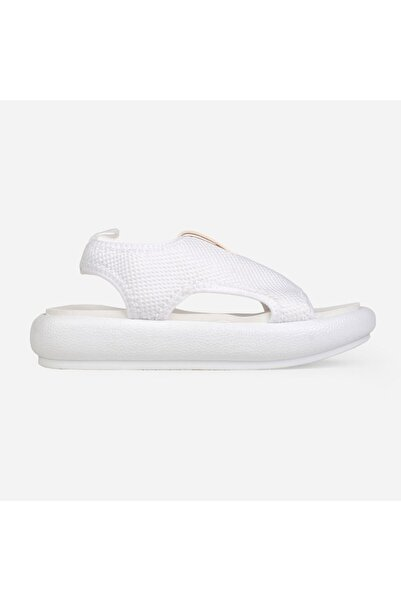 Jeep Kadın Beyaz Fashıon Sandalet  J0248 Zn