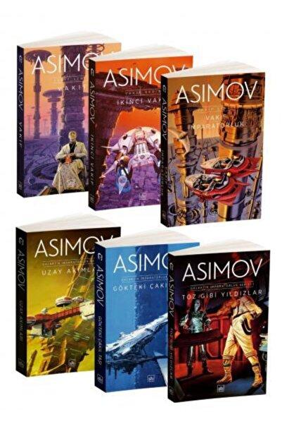 İthaki Yayınları Isaac Asimov 6 Kitap Takım