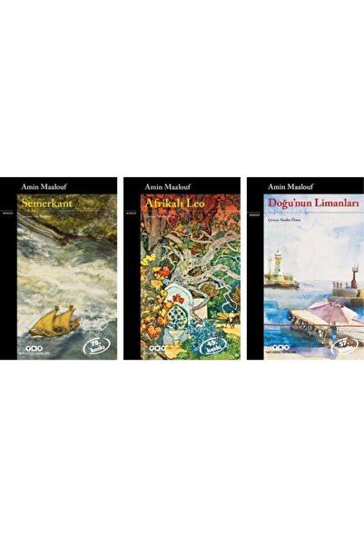 Yapı Kredi Yayınları Semerkant / Afrikalı Leo / Doğu'nun Limanları 3 Kitap Set