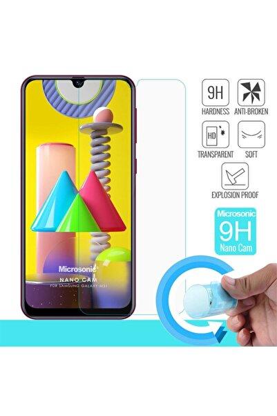 Galaxy M31 Ekran Koruyucu *hd Kırılmaz Esnek Nano Cam Film Screensaver