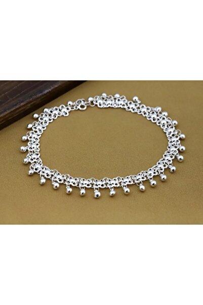 Doğan Silver Kadın Gümüş El Işçiliği Telkari Halhal 925 Ayar Dgn20129