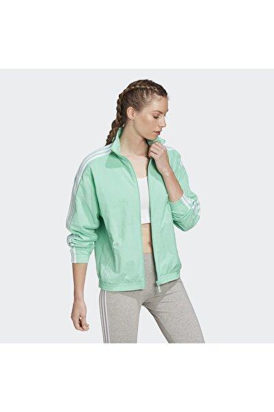 Kadın Yeşil Spor Ceket FM2614