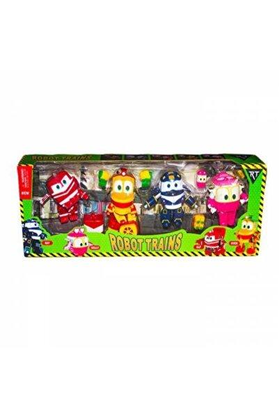 Kids Robot Trenler Oyuncak Seti Alf , Kay, Saly, Duck Oyuncak Figürler