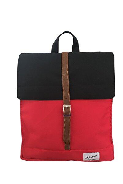 Fudela New Kırmızı Siyah Mbs Sırt Çantası