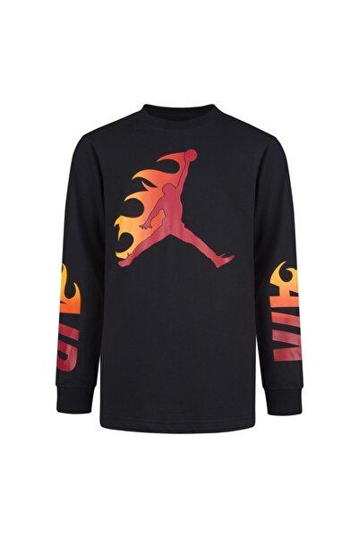 Nike Nıke Jordan Jdb Jumpman Flame Ls Çocuk Tişört